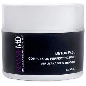 NassifMD Makeup - NassifMD Face Detox Pads, 60 Count, NEW